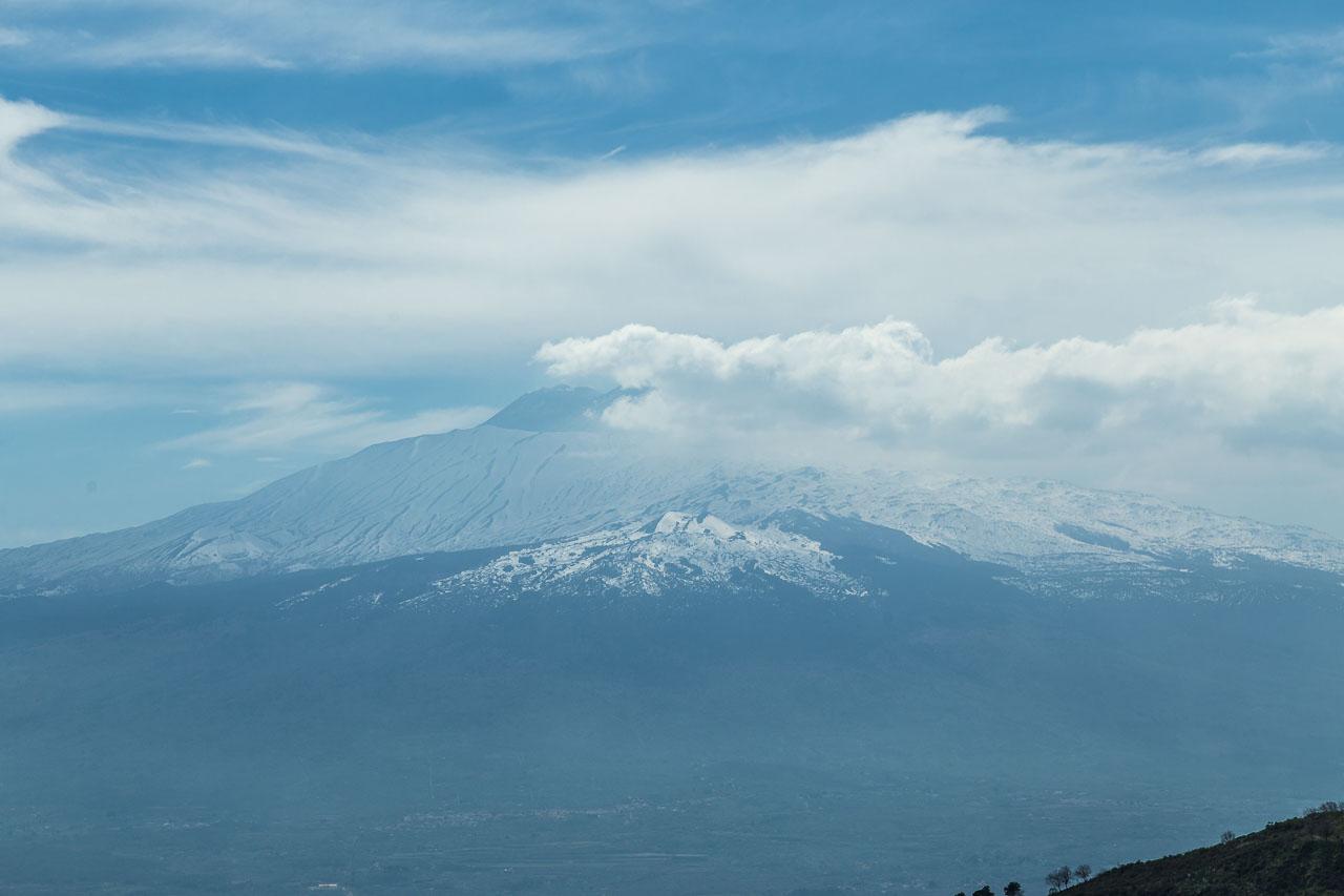 Blick auf den Etna